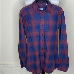 Glanshirt button down flannel